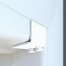 Gelenkplatte für die Montage am Fensterrahmen bei Plissees