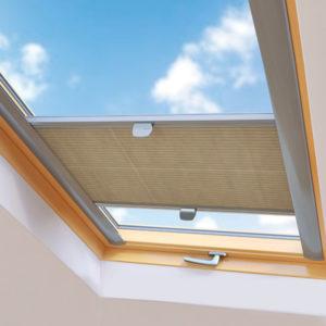 Plissees für Dachfenster